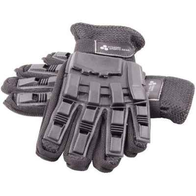 Guantes Paintball Full Finger con protectores (negro) | Paintball Sports