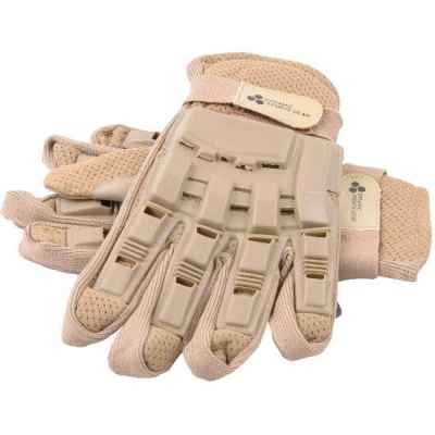 Guantes Paintball Full Finger con protectores (Desert / Tan) | Paintball Sports