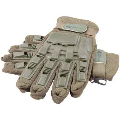 Guantes Paintball Full Finger con Protectores (oliva)   Paintball Sports