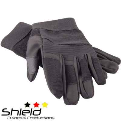 Guantes Shield AR Guantes Paintball (negro)   Paintball Sports