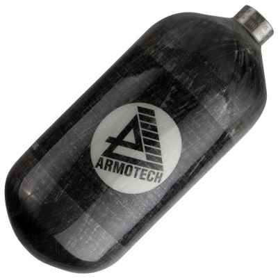 ARMOTECH Supralite DEAL - Botella de HP compuesto de 1.1 L (300 bar) - gris | Paintball Sports