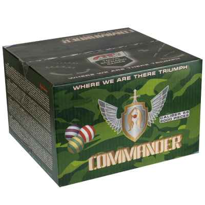 Artlife Commander Tactical Paintballs (caja 2000) | Paintball Sports