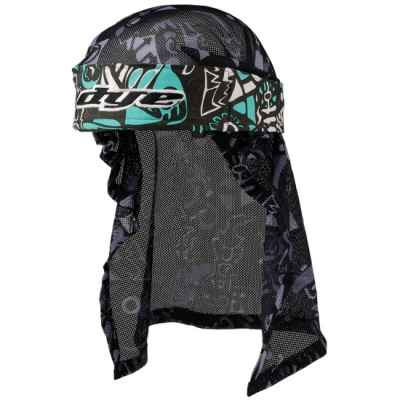 Tinte Paintball Head Wrap (Esquimal Teal / Gris / Negro) | Paintball Sports