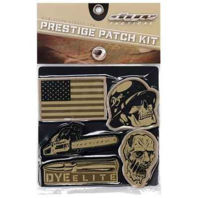 Dye Tactical Prestige Patch Kit (emblema) | Paintball Sports