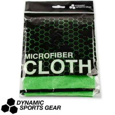 DSG Paintball Microfibre Cloth / Mask Cloth 30x30cm (Neon Green) | Paintball Sports