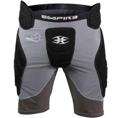 Empire Neoskin F6 Paintball Slide Short (negro / gris) | Paintball Sports