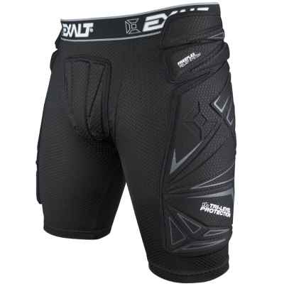 Exalt FreeFlex Paintball Slide Short (negro) | Paintball Sports