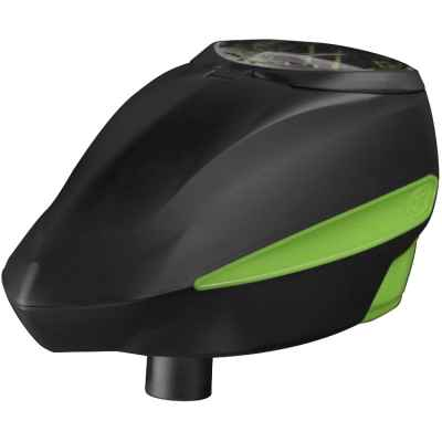 GI Sportz LVL / Level Paintball E-Loader (negro / verde) | Paintball Sports