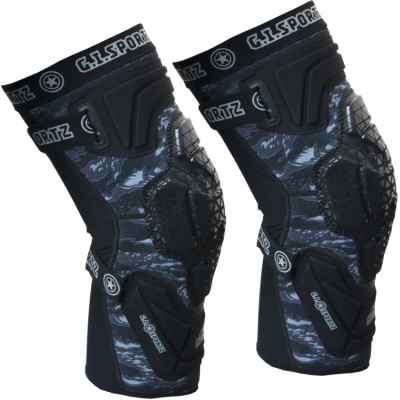 Rodilleras / Rodilleras GI Sportz Race Paintball (negro) | Paintball Sports