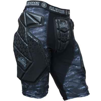 GI Sportz Race Paintball Slide Short (negro) | Paintball Sports