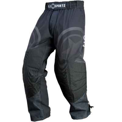 Pantalones de paintball ultraligeros GI Sportz Glide (negro) | Paintball Sports