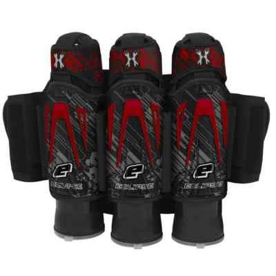 Planet Eclipse / HK Army Zero-G 3 + 2 + 4 Paintball Battlepack (Rojo fuego) | Paintball Sports