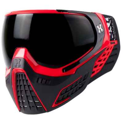 Máscara de HK Army KLR Paintball (rojo) | Paintball Sports