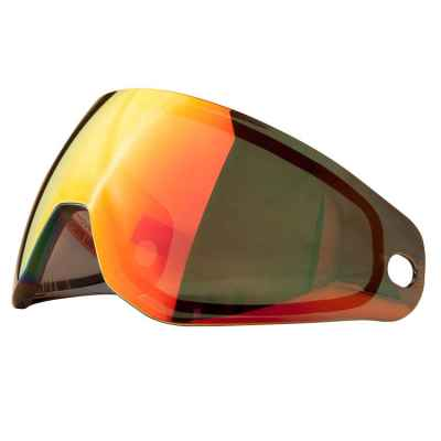 HK Army KLR Thermal Paintball Masking Glass (Scorche Red Mirror) | Paintball Sports