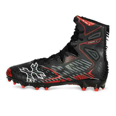 HK Army Diggerz_X1 Hightop Paintball Zapatos (Negro / Rojo) | Paintball Sports