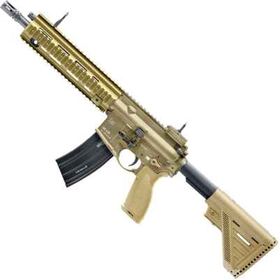 Heckler y Koch 416 A5 Airsoft Strum Gun TAN | Paintball Sports