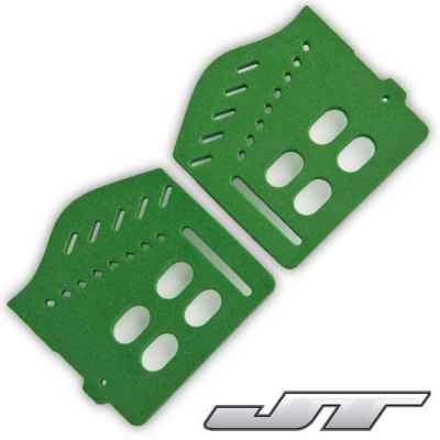 JT Spectra Soft Ear Piece (verde) | Paintball Sports