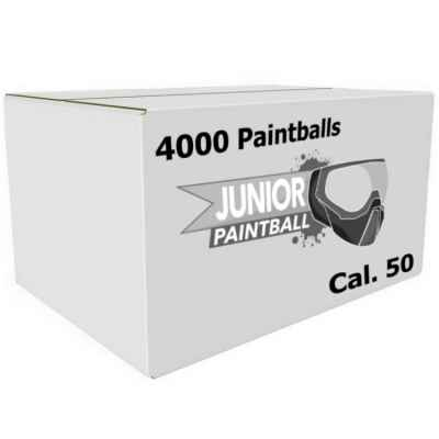 Bolas de paintball para niños PREMIUM / Bolas de paintball para niños Cal. 50 (caja de 4000) | Paintball Sports