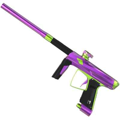 MacDev Clone 5S Infinity Paintball Marker (Púrpura / Verde) | Paintball Sports
