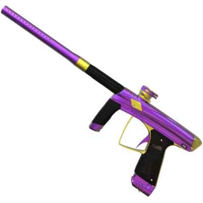 Marcador de Paintball MacDev Prime (morado / dorado) | Paintball Sports