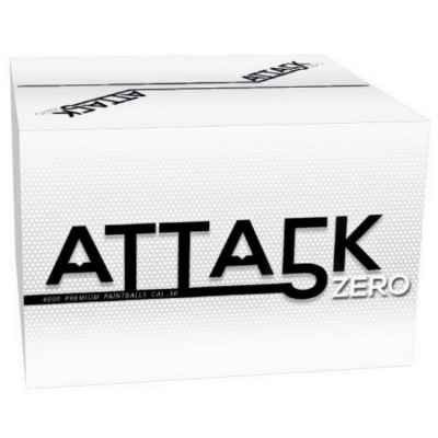 Attack Zero Field Paintballs / Gotcha Bullets 4000pcs Carton (Cal 50) | Paintball Sports