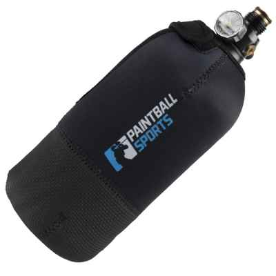 Paintball Sports HP Neoprene Tank Cover 1.1 litros / 0.8 litros (negro) | Paintball Sports