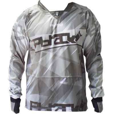 PBRack Ultra Flow Paintball Jersey (blanco) | Paintball Sports