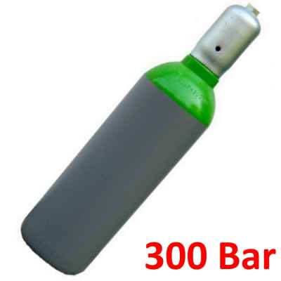 Botella de almacenamiento de aire comprimido (10 litros, 300 bar) | Paintball Sports