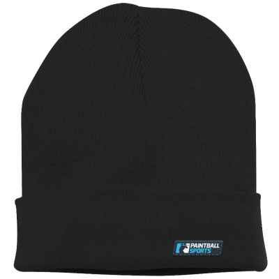 Paintball Sports Beanie / Sombrero de invierno (negro) | Paintball Sports