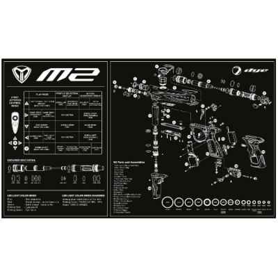 Tinte M2 Tech Mat (negro) | Paintball Sports