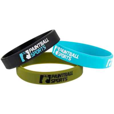Pulsera deportiva de paintball (goma) | Paintball Sports