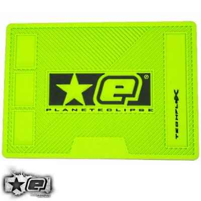 Planet Eclipse Paintball Tech Mat (verde, goma) | Paintball Sports