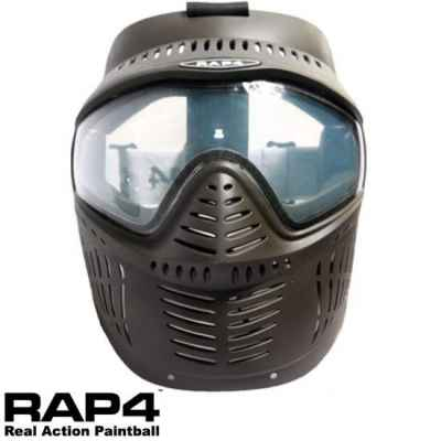 RAP4 Hawkeye Paintball Thermal Mask (negro) | Paintball Sports