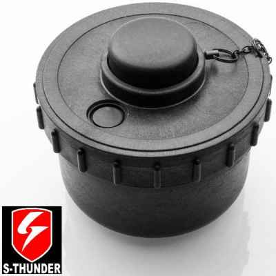 S-Thunder Paintball Powder / Powder Landmine (negro) | Paintball Sports