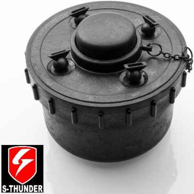 S-Thunder Paintball Water / Paint Landmine (negro) | Paintball Sports