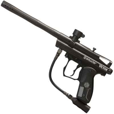 Kingmann Spyder Victor Paintball Marker (negro) | Paintball Sports