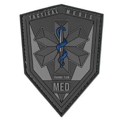 Paintball / Airsoft PVC Velcro Patch (Tactical Medic / MED) | Paintball Sports
