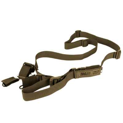 Taginn RUSH Strap / Tactical Sling (Coyote Brown) | Paintball Sports