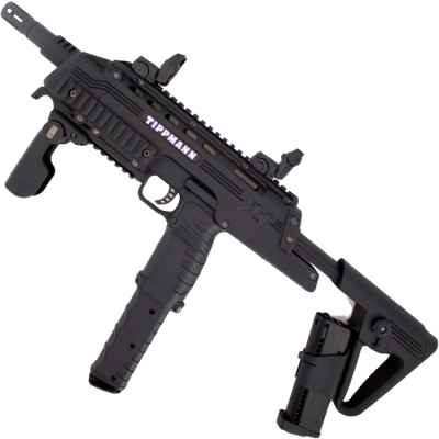 Tippmann TCR Paintball MagFed Tactical Marker (negro) | Paintball Sports