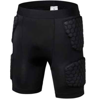 Shorts de diapositivas de paintball Ultralite de compresión Nano-Series (negro) | Paintball Sports