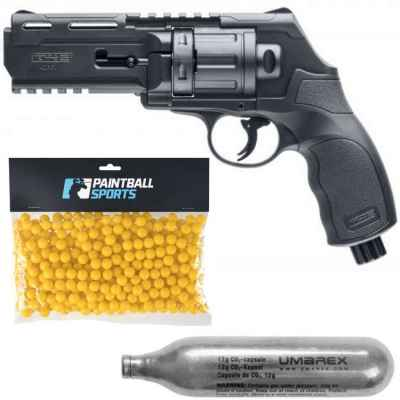 Umarex HDR 50 Paintball Revolver Players Pack (Negro) | Paintball Sports