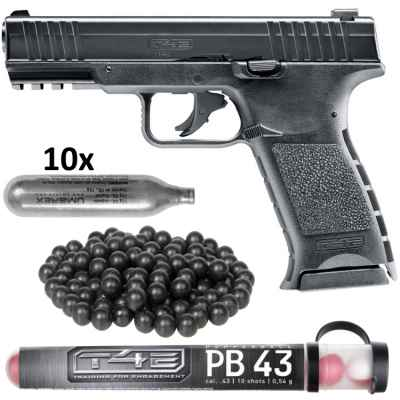 Umarex T4E TPM1 pistola kit HOME DEFENSE (negro) | Paintball Sports