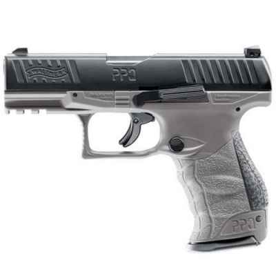 Pistola de Paintball Walther PPQ M2 T4E Ram (Cal. 43) - Gris Tungsteno | Paintball Sports