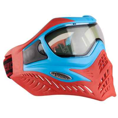 V-Force Grill Paintball Thermal Mask Ltd. Edición (Azul / Rojo) | Paintball Sports