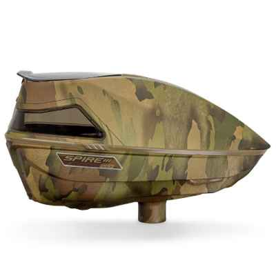 Virtue Spire 3-280 Paintball Hopper / Loader (Reality Brush Camo) | Paintball Sports