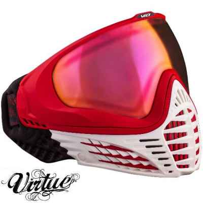 Virtue VIO Paintball Thermal Mask (White Fire) | Paintball Sports