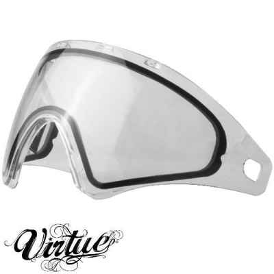 Virtue VIO Paintball Thermal Masking Glass (transparente / transparente) | Paintball Sports