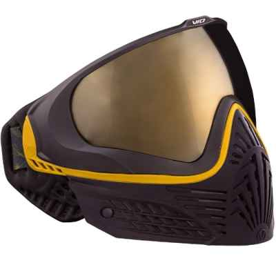 Virtue VIO EXTENDED Paintball Thermal Mask (Oro Negro)   Paintball Sports