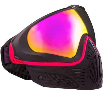 Virtue VIO EXTENDED Paintball Thermal Mask (Black Ruby) | Paintball Sports