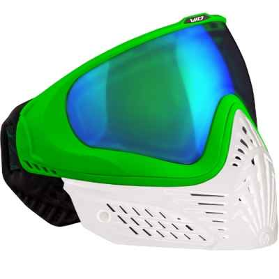 Virtue VIO EXTENDED Paintball Thermal Mask (Esmeralda Blanca) | Paintball Sports